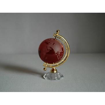 Globus 50mm rubín