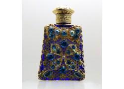 Skleněný flakon na parfém 15.