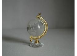 Globe from glass, clear glass www.sklenenevyrobky.cz