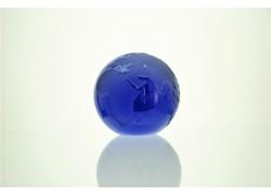 Těžítko zeměkoule 35mm modrá