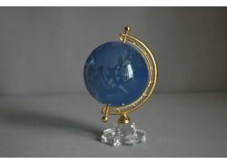 Globus of glass, light blue www.sklenenevyrobky.cz