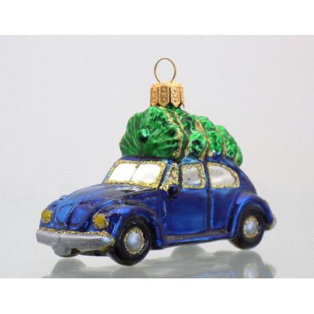 Auto modré se stromkem VW 591