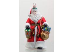 Christmas decoration Santa Claus with lantern