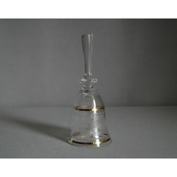 Zvonek listr malý I. 13cm crystal
