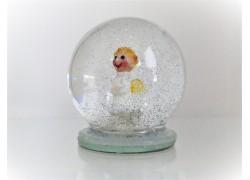 Sněžící koule Anděl 60mm