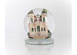 Sněžící koule kostel Svatého Mikuláše 80mm