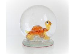 Sněžící koule s želvou 60 mm