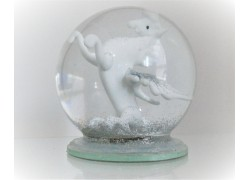 Sněžící koule Pegas 10cm