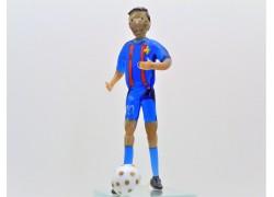 Messi FC Barcelona 11,5x4,5x4,5cm
