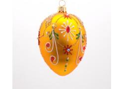 Fabergé vajíčko 2001 zlatý mat bohatě zdobené