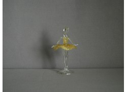 Baletka mini 11cm žlutá
