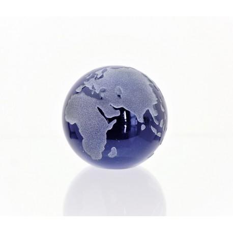 Těžítko zeměkoule 60 mm kobaltově modrá