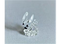 Zajíc 730 crystal 2x3x2,5 cm