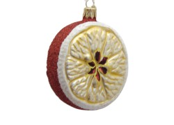 Vánoční ozdoba plátek jablka