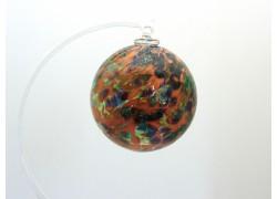 Glass balls 6cm spotted www.sklenenevyrobky.cz