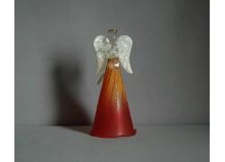 Skleněný anděl velký 4.
