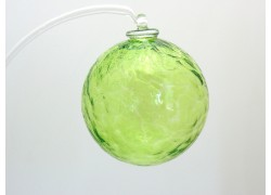 Glass balls 6cm light green www.sklenenevyrobky.cz