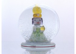 Sněžící koule 10-13cm Pražské Jezulátko