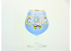 Jubilee Glass Carmen 100 years blue www.sklenenevyrobky.cz