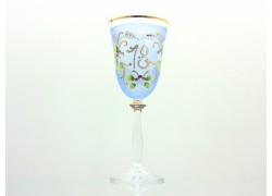 Jubilee wine glass Angela 18 years www.sklenenevyrobky.cz