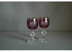 Glass of Claudia on Aperitif - 2pcs, purple www.sklenenevyrobky.cz