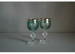 Glass of Claudia on Aperitif - 2pcs, green www.sklenenevyrobky.cz
