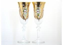 Flétna na šampaňské Christine 150ml dvě skleničky bílé