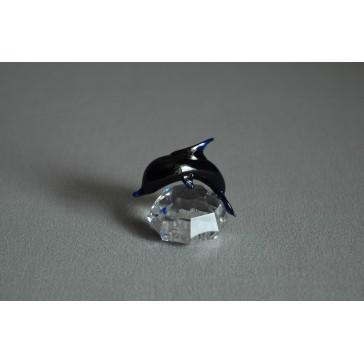 Delfín mini cobalt 3x3,5x4 cm