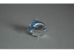 Delfín mini vodní modř 3x3,5x4 cm