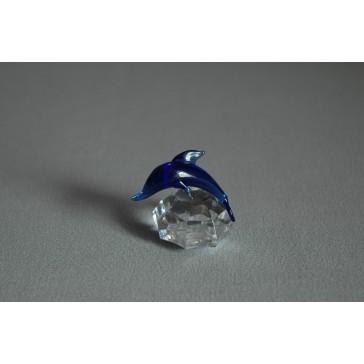 Delfín mini modrá 3x3,5x4 cm