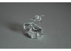 Delfín duo mini crystal 3x4,5x4 cm