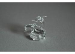 Delfín duo mini crystal 3x4,5x4 cm