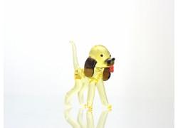 Glass Dog 60x40x30mm