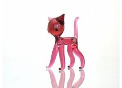 Glass Cat 55x50x20mm