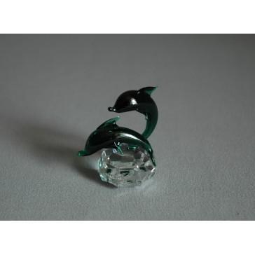 Delfín duo mini oceanit 3x4,5x4 cm
