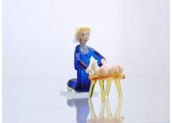 Márie s Ježiškom 60x25x45 mm www.sklenenevyrobky.cz