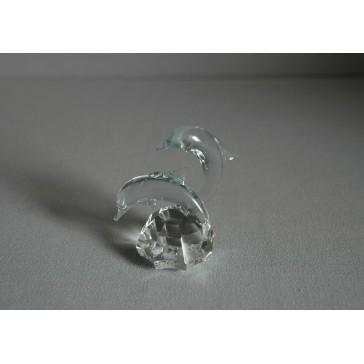 Delfín duo crystal 4x7x6 cm