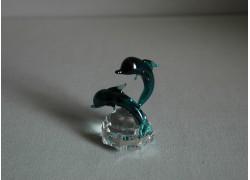 Delfín duo oceanit 4x7x6 cm
