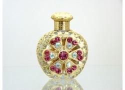 Sklenený flakón na parfum 50.
