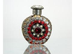 Sklenený flakón na parfém 52.