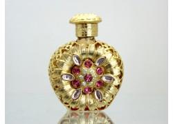 Sklenený flakón na parfum 57.