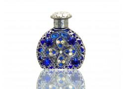 Sklenený flakón na parfum 60.