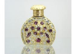 Sklenený flakón na parfum 62.