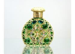 Skleněný flakon na parfém 21.