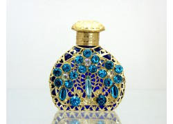 Sklenený flakón na parfum 66