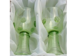Glass Roman C02 200ml / 160mm forest green glass