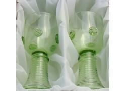 Říman Lesní zelené sklo C02 200ml / 160mm set 2ks sklenic