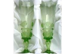Lesní sklo- sklenice Flétna C42 200ml / 220mm 2ks sklenic