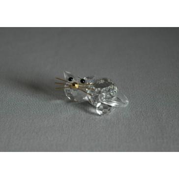 Kočka 908 crystal 3,5x2x5 cm