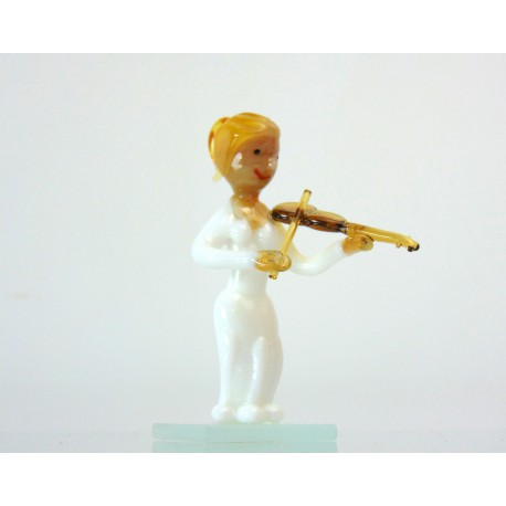 Muzikant mini houslistka